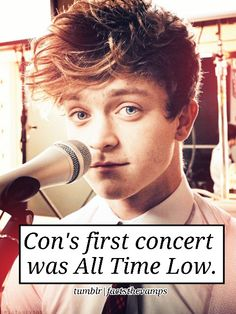 OMG!!!! Connors first concert was ATL