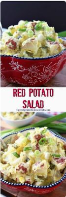 RED POTATO SALAD - Food Holic