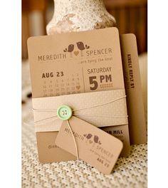 22 Charming Rustic Wedding Invitations we ♥ this! moncheribridals.com