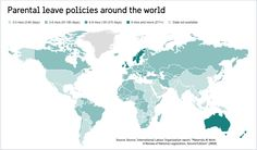Parental leave and child care around the world
