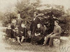 La familia de Pedro II de Brasil