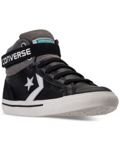 b61e19af1d7 Converse Boys  Pro Blaze Strap Casual Sneakers from Finish Line Kids -  Finish Line Athletic Shoes - Macy s