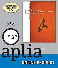Aplia Online Homework System to Accompany Hurley's A Concise Introduction to Logic, 12th Edition, [Web Access], 1 term (6 months)  http://www.bestcheapsoftware.com/aplia-online-homework-system-to-accompany-hurleys-a-concise-introduction-to-logic-12th-edition-web-access-1-term-6-months/