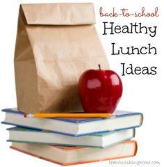 Back-to-School Health Lunch Ideas !!