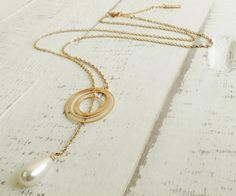 Pearls and Gold Necklace
