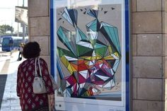 Art Station (Curateurs : Blended - Art Gallery - Cercle Rouge) Tramway Le Corum Montpellier - 2016