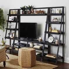 Morgan TV Stand - Rubbed Black