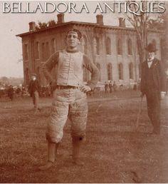Virginia Football Player 1897 Photo - Identified as John Wilson - Antique Football Photo