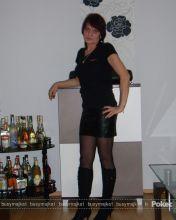 Fotka: busymajka1 Shirt Dress, T Shirt, Black, Dresses, Fashion, Supreme T Shirt, Vestidos, Moda, Shirtdress