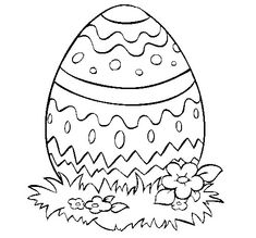 Spring themed Coloring Pages Awesome Religious themed Easter Egg Coloring Page Free Coloring Easter Coloring Pictures, Free Easter Coloring Pages, Easter Egg Coloring Pages, Spring Coloring Pages, Pattern Coloring Pages, Detailed Coloring Pages, Coloring Sheets For Kids, Printable Coloring Pages, Coloring Book