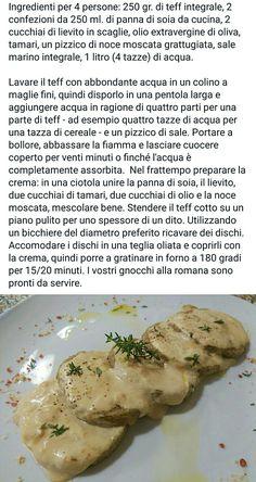 Gnocchi alla romana di teff Gnocchi, Mashed Potatoes, Ethnic Recipes, Food, Cooking, Whipped Potatoes, Smash Potatoes, Essen, Meals