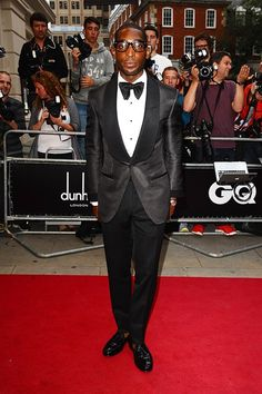 Tinie Tempah in Tom Ford at the GQ Men of the Year Awards