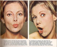 facial exercises 2: Discover a Lovelier You (Woman Alive, 1972) | Flickr - Photo Sharing!