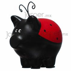 Alcancía cerdito de cerámica - Catarina mini Mini, Piggy Banks, How To Make, Crafts, Painting, Piggy Bank, Pigs, Report Cards, Blue Prints