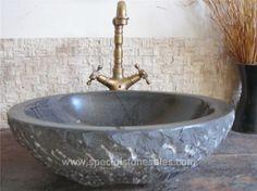 stone sinks basins ideas stone sink