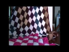 Entrelac Crochet Blanket Introduction - YouTube