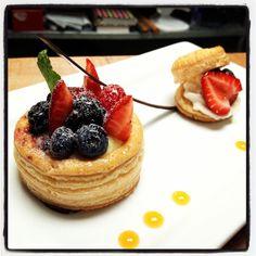 Baking & Pastry finals -- puff pastry dessert