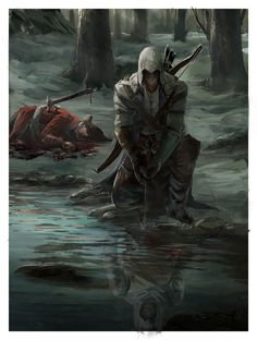 Altair is his reflection! Awesome!