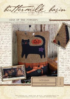 Year of the Pinkeeps: October (Kit with Wool)