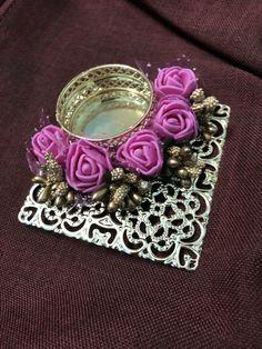 Orders taken @9600001983 Diwali Candle Holders, Diwali Candles, Candle Holder Decor, Diy Diwali Decorations, Festival Decorations, Diwali Diva, Diy Candles Design, India Crafts, Diwali Craft