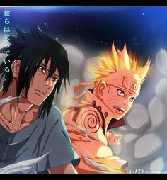 Naruto 641 - they are smiling! by i-azu on DeviantArt