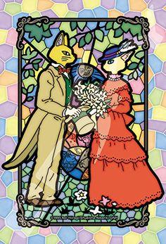 Art Crystal Jigsaw Puzzle - Whisper of the Heart Himitsu no Monogatari 126 pcs Pieces Cat Kitten Kitty Wedding Ceremony Studio Ghibli Movie Sankei Animation Film Hayao Miyazaki Ensky ensky http://www.amazon.com/dp/B01AWBBVBS/ref=cm_sw_r_pi_dp_f258wb0EG5TFP