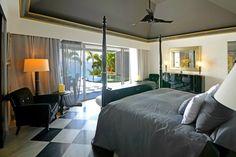 Le Boudoir St Barths Bedroom design #StBarths #StBarth #SaintBarth St Barths, Great Restaurants, Beach Fun, Luxury Villa, Boudoir, Bedroom, Furniture, Design, Home Decor