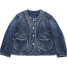 PC SASHIKO LADIES ROUND COLLAR JACKET|Porter Classic(ポータークラシック)