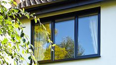 Orion PVC Casement Windows: - We advise our customers to try some different design and openings that they may have in mind because the Polaris PVC window is very adaptable Wooden Casement Windows, Upvc Windows, Sash Windows, Windows And Doors, Diy Exterior, Devol, Door Insulation, Composite Door