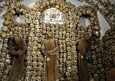 The Capuchin Crypt in Rome is the creepiest place we have been to on our travels. The first sight of the crypt sends shivers down your spine. Click on the image to read about the spookiest place on the Earth.