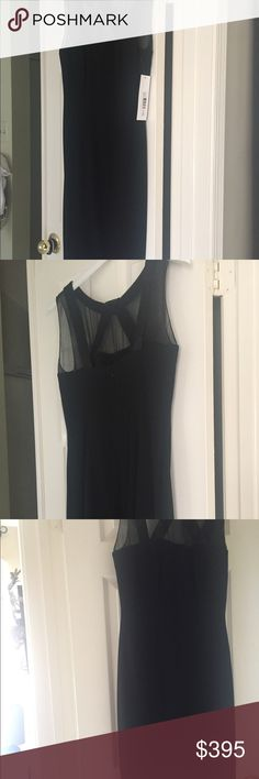 GORGEOUS New Badgley Mischka Black Cocktail Dress New $600 Designer New Badgley Mischka  short (hits below the knee--I'm 5'2.5) with sexy  chiffon top with black beading!! Lined in lightweight silk.   SO ELEGANT FOR THE HOLIDAYS, WEDDINGS, PARTIES, THEATER.   Can be worn all year round.  SO ELEGANT, SEXY AND CHIC!!!  The Gorgeous bracelet is also for sale in my closet!!  View it there! Badgley Mischka Dresses
