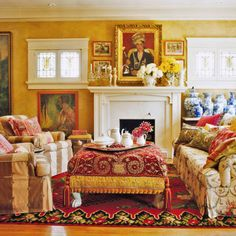 <p>Loving collectors and a visionary decorator create an exotic interior bursting with passion and color</p> Lynn