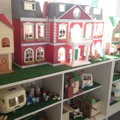 365 DAYS OF PINTEREST CREATIONS: Usable Storage for Sylvanian Families, easy to play with and store all at the same time!