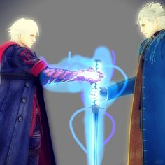 Done by hatredboy on deviantart. Nero and Vergil