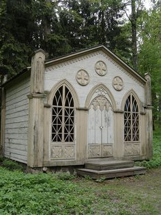 Old Finnish church