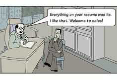 Is everything on your CV true or are you born to be in Sales?! ;) www.pinnacleconsulting.co.uk