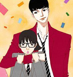 Manhwa Manga, Manga Anime, Spirit Fingers Webtoon, Webtoon Comics, Happy Pills, Inktober, Art Reference, Kawaii, Cartoon