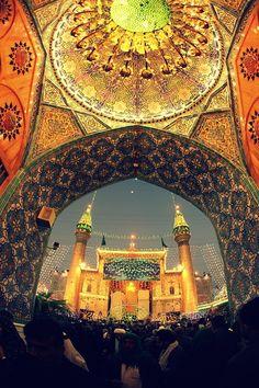 Shrine of Ali ibn Abi Talib in Najaf, Iraq.
