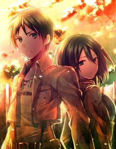 Mikasa x Eren, Shingeki No Kyojin: