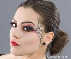 spider web eye makeup - Google Search
