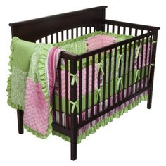 Olivia Baby 9pc Crib Bedding Set by JoJo Designs.Opens in a new window