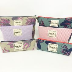Check out our new octopus fabrics! Available for $60 at www.vrhandbags.com