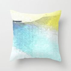 Winter throw pillow by Paul Kimble