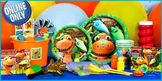 Party City Dinosaur Train Decorations. Finally ordered them, for the party I've been planning for about 7 months now. Hehe!