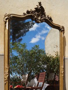 Antique French 19th Century Rococo Gilt Framed by AngilouGFF