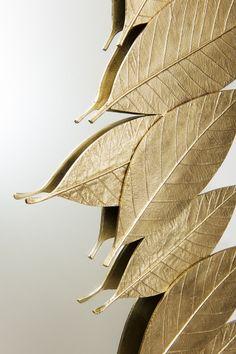 Detail of the Leaf   Rectangular Mirror