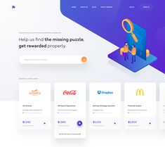Landing page Illustrated | #ui #ux #userexperience #website #webdesign #design #minimal #minimalism #art #white #orange #blue #travel #map #ecommerce #fashion