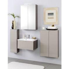Das Badprogramm Alina hat eine in der Tiefe reduzierte Bauform, um auch in kleinen Badezimmern besonders zur Geltung zu kommen: http://www.badmoebeldirekt.de/held-alina-badmoebelserie-sandgrau.html