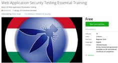 Web Application Security Testing Essential Training http://ift.tt/1UD6W12  #udemy #coupon #discount
