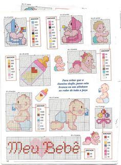 Schemi punto croce baby